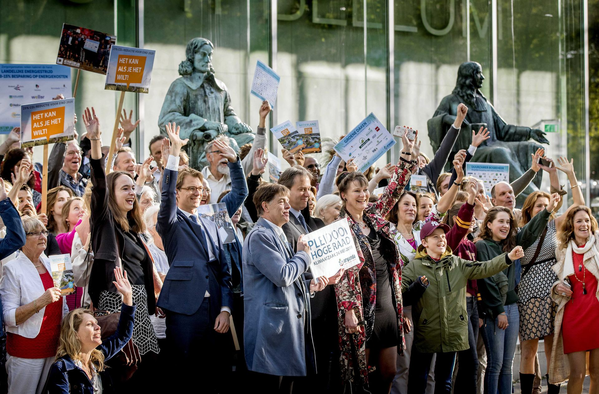 Urgenda wins climate case against dutch state.