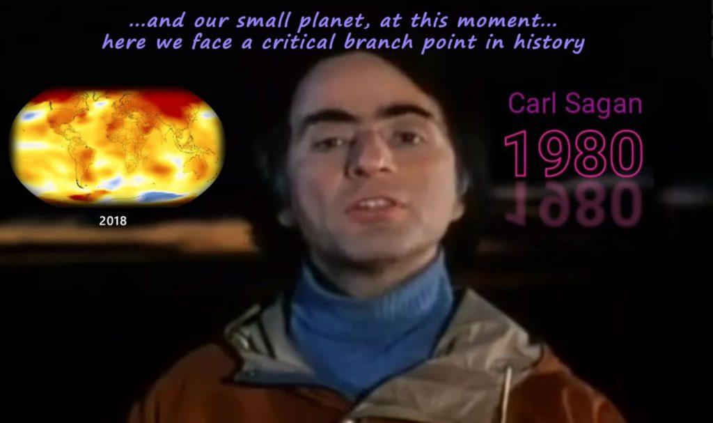 Carl Sagan's message for humanity – 1980 (EN►EN/ES/IT/NL)
