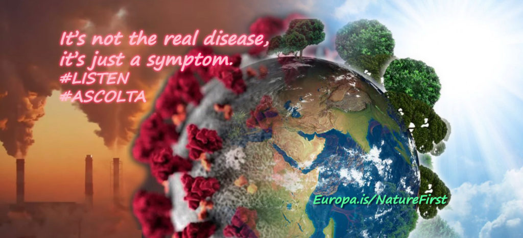 Corona virus is a symptom
