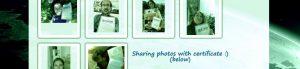 Compartiendo fotos con certificado :)