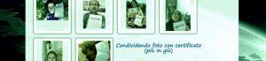 Condividendo foto con il certificato :)
