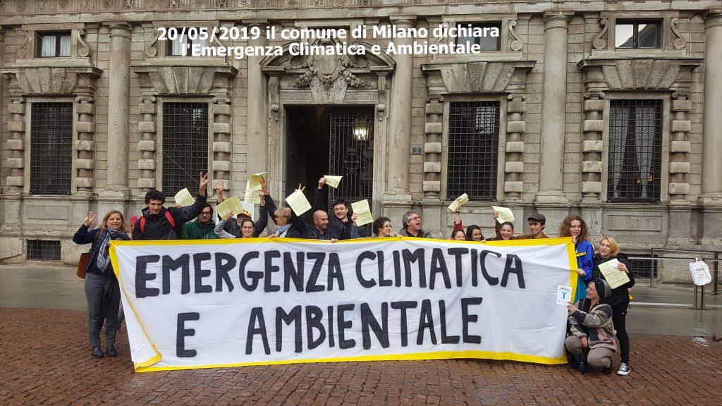 Emergenza Climatica e Ambientale, Comune di Milano