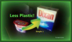 Ridurre plastica, esempio facile 1