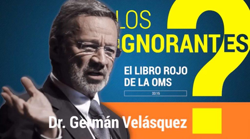 Dr. Germán Velázques, director del programa de medicinas de la OMS in 2009 (ES►EN/ES)