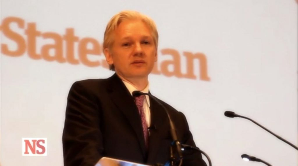 Julian Assange speech, 2011 New Statesman/Frontline Club debate