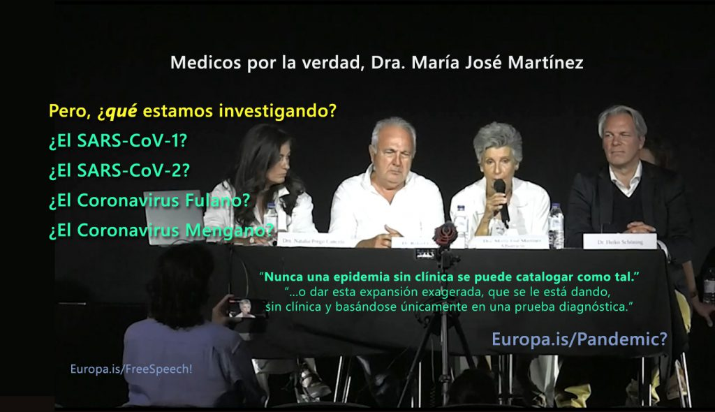 Doctors for truth – Dra. María José Martínez Albarracín (ES->EN/ES/IT/NL)