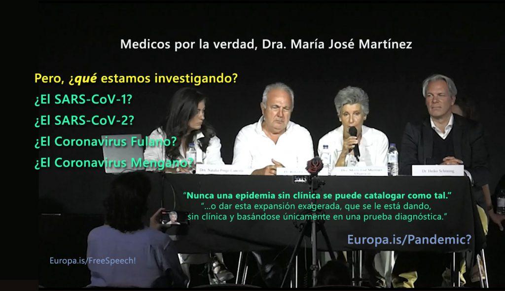 Medici per la verità – Dra. María José Martínez Albarracín