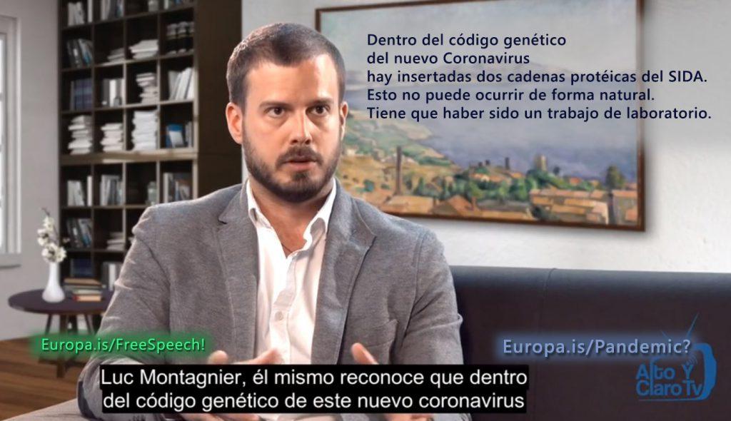 Periodista explica el porqué de la falsa pandemia y quiénes están detrás. (ES)