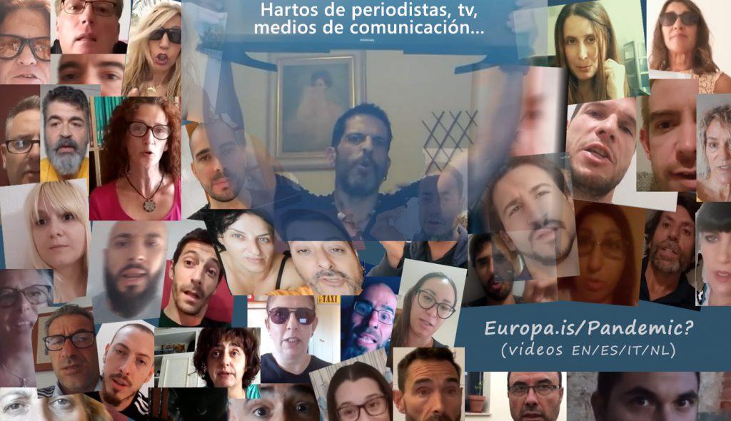 Población harta de los periodistas, tv, medios de comunicación…