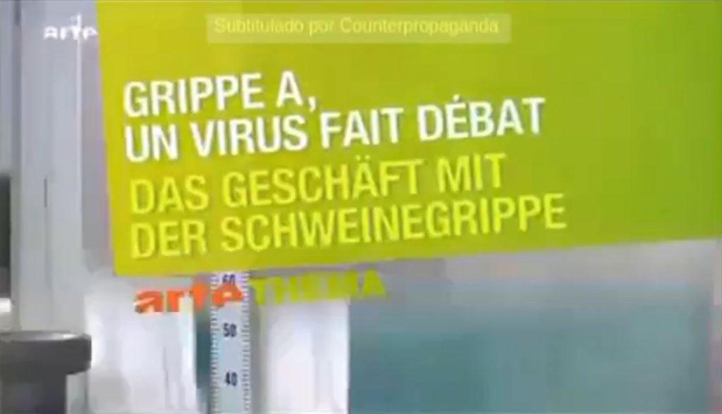 Business with the swine flu – Das geschäft mit der Schweinegrippe (DE►ES)