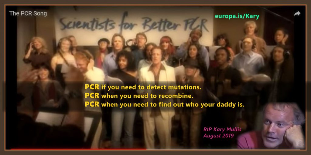 The PCR song! (2008) By Scientists for better PCR.