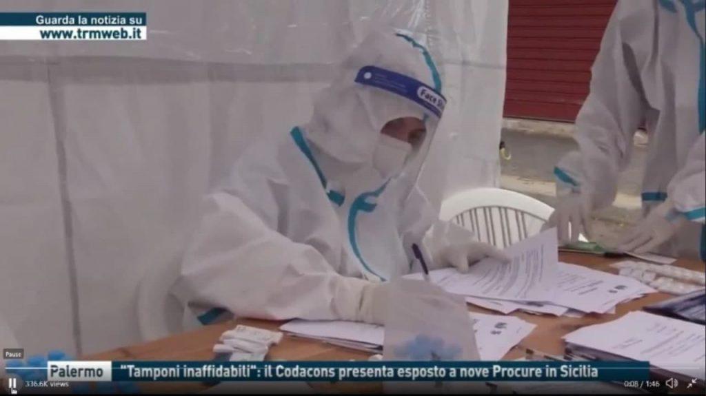 Unreliable PCR swabs, Italy (IT►EN/ES/IT/NL) – Codacons presents exposed to nine prosecutors in Sicily