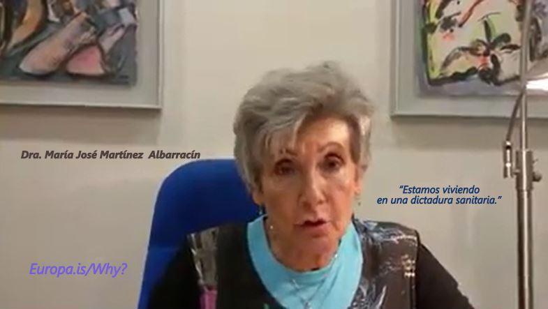 Magistral resumen de la crisis, en la que nadie es negacionista – Dra. Maria José Martínez Albarracín