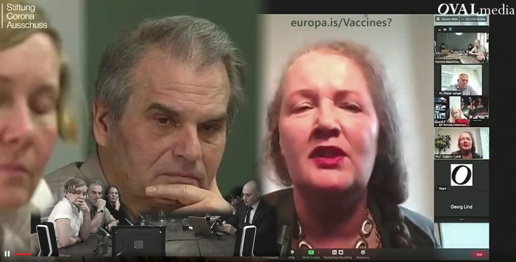 Dangers of human mRNA genetic experiment presented as 'vaccine' – Reiner Fuellmich and Dolores Cahill (EN►EN/NL)