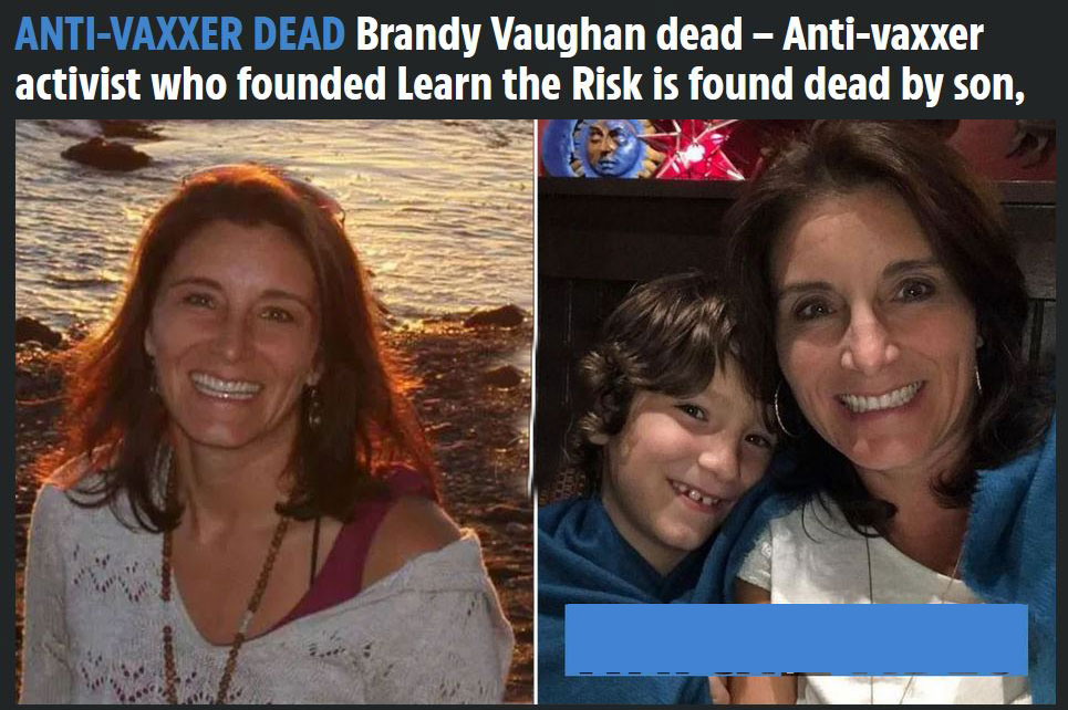 Mysterious death of vaccine safety advocate Brandy Vaughan (ex-Merck)