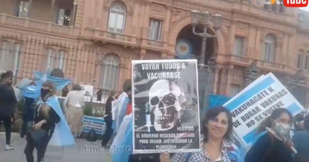 World Wide Demonstration for Freedom ♥ – Argentina