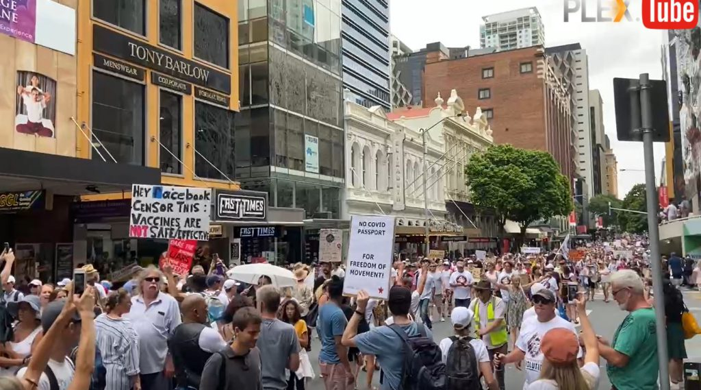 World Wide Demonstration for Freedom ♥ – Australia