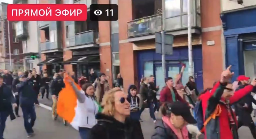 World Wide Demonstration – Dublin Freedom♥