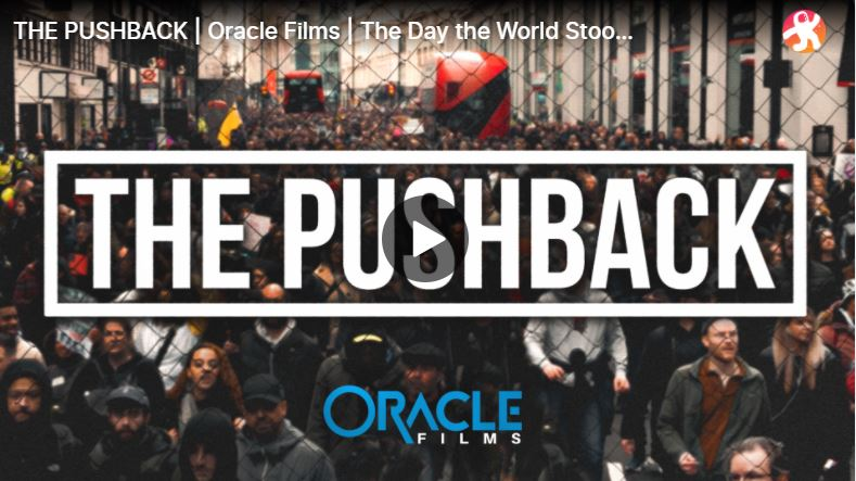 The Pushback, the World Wide Demonstration for Freedom 20/03/2021
