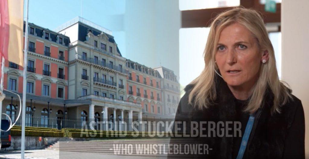 Astrid Stuckelberger, WHO whistleblower